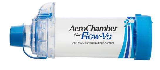AeroChamber Plus Flow-Vu andningsbehållare med munstycke, Munstycke från 5år och uppåt (vuxen)  1 styck