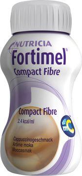 Fortimel Compact Fibre drickfärdigt kosttillägg, mocca 4 x 125 milliliter