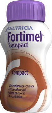Fortimel Compact drickfärdigt kosttillägg, choklad 4 x 125 milliliter