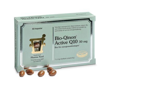 Pharma Nord Bio-Qinon Active Q10 30 mg 60 kapslar