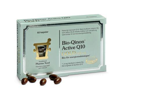 Pharma Nord Bio-Qinon Active Q10 Gold 100 mg 60 kapslar