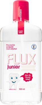 Flux Junior Jordgubb Fluorskölj för barn, 500 ml