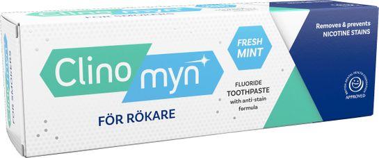Clinomyn Smokers tandkräm Tandkräm mot nikotinfläckar, 75 ml