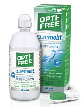 Opti-Free PureMoist Linsvätska, 300 ml