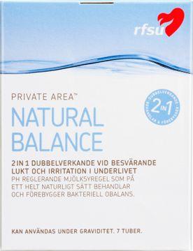 RFSU Natural Balance Mjölksyregel, 7 st