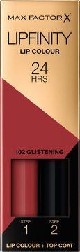 Max Factor Lipfinity Lip Colour 102  Glistening