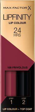 Max Factor Lipfinity Lip Colour 108 Frivolous
