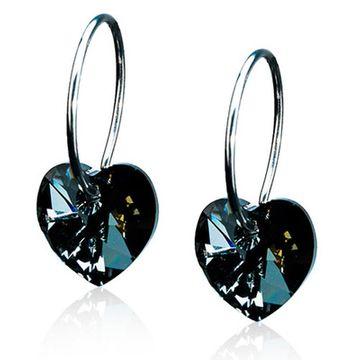 Blomdahl NT Ring 14mm Heart Black Diamond par