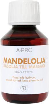 A-Pro Mandelolja Massage och kroppsolja,100 ml