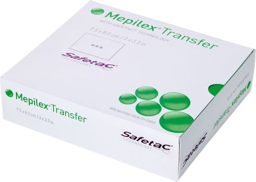 Mepilex Transfer Mepilex Transfer, 7,5 x 8,5cm 5 st
