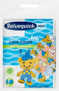 SalvequickMED Aqua Cover Kids Plåster, 5 st