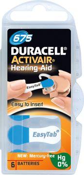 Duracell Batteri Activair Mf 675 6 St Batteri hörapparat, 6 st