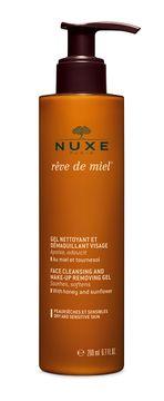 Nuxe Face Cleansing and Make-Up Removing Gel Rêve de Miel. Ansiktsrengöring. 200 ml