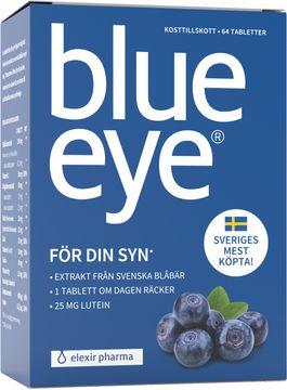 Elexir Pharma Blue Eye Tablett, 64 st