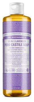 Dr. Bronner's Liquid Soap Lavender Duschtvål, 475 ml