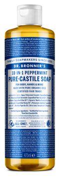 Dr. Bronner's Liquid Soap Peppermint Duschtvål, 475 ml