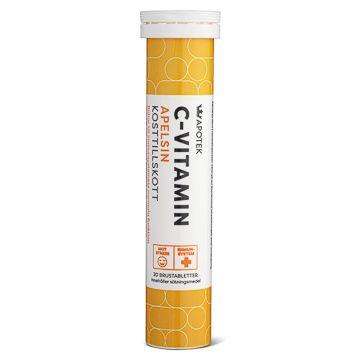 Kronans Apotek C-Vitamin Apelsin Brustablett, 20 st