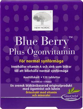 Blue Berry Plus Ögonvitamin Tablett, 120 st