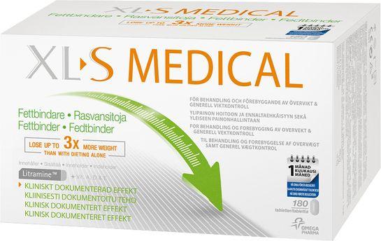 XL-S Medical Fettbindande Viktminskning Tablett, 180 st