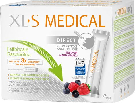 XL-S Medical Fat Binder Direct Pulver, 90 st