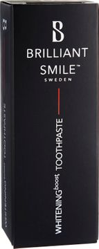 Brilliant Smile Sweden Tandblekningstandkräm - intensivkur, Whitening tandkräm 20 ml