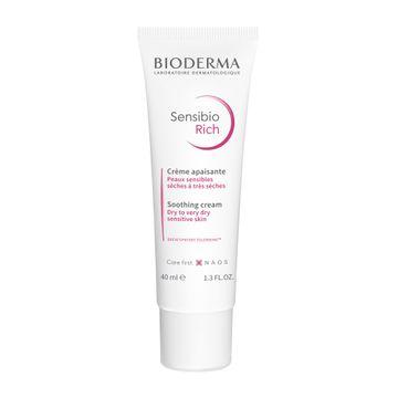Bioderma Sensibio Rich Cream Ansiktskräm, 40 ml