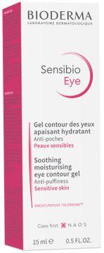 Bioderma Sensibio Eye Contour Gel Ögonkräm, 15 ml