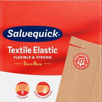Salvequick Textil Längd 5 m