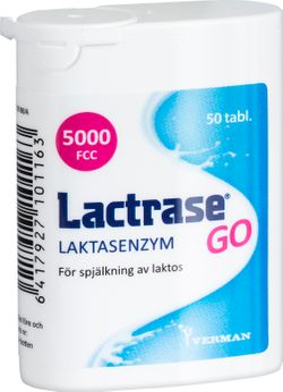 Lactrase GO Tablett, 50 st