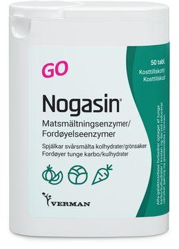 Nogasin GO Matsmältningsenzym 50 styck
