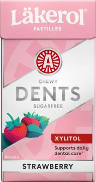 Läkerol Dents Strawberry 36 gram