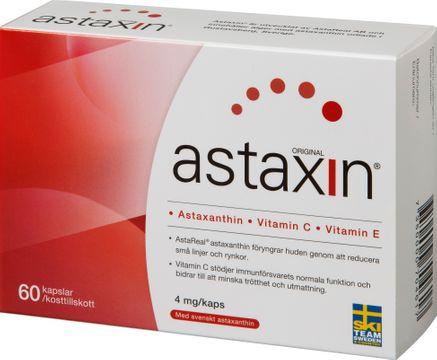 Astaxin 60 kaps Kapslar