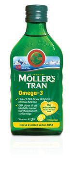 Möllers Tran citron 250 ML