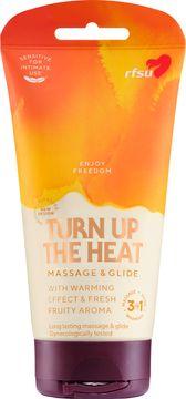 RFSU Sense Me Turn Up The Heat Massagegel/glidmedel, 150 ml