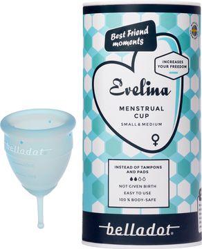 Belladot Evelina menstrual cup Small&Medium 1st
