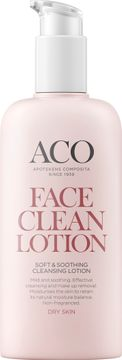 ACO Face Soft & Soothing Cleansing Lotion Ansiktsrengöring, 200 ml