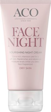 ACO Face Nourishing Night Cream Nattkräm, 50 ml