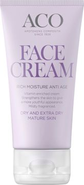 ACO Face Anti Age Rich Moisture Face Cream Ansiktskräm, 50 ml