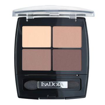 Isadora Eye Shadow Quartet 44 Muddy Nudes, Ögonskugga
