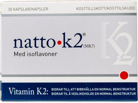 Natto K2 Vitamin K2 med Isoflavoner 30st