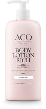 ACO Body Lotion Rich Kroppslotion, oparfymerad, 400 ml