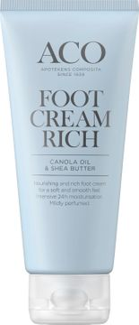 ACO Foot Cream Rich Fotkräm, 100 ml