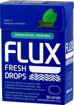 Flux Fresh Drops Sugtablett, 30 st