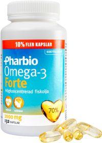 pharbio omega 3 forte 120 kapslar