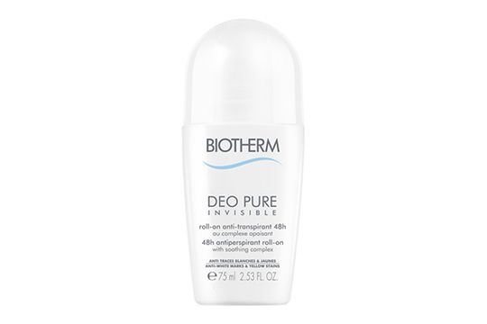 Biotherm Deo Pure Invisible Roll On 48h Deodorant. 75 ml