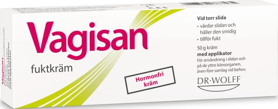Vagisan Fuktkräm Vaginal Intimkräm, 50 g