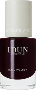 IDUN Minerals Nail Polish Granat Nagellack, 11 ml