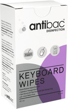 Antibac Keyboard Wipes 10st
