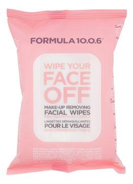 Formula 10.0.6 Wipe Your Face Off ansiktsservetter 25 st