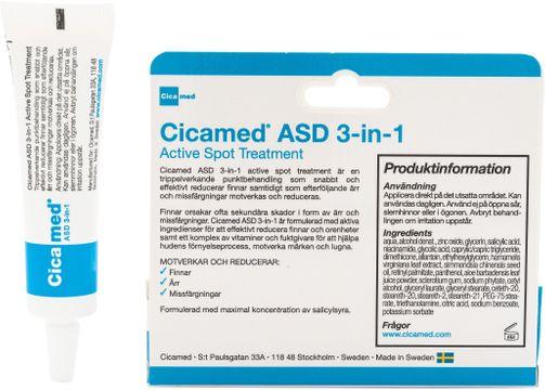 Cicamed ASD 3in1 Active Spot Treatment Punktbehandling finnar. 15 ml